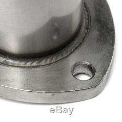 2 Set 3'' Electric Exhaust Valve Catback Downpipe System Remote Cutout E-cut UK