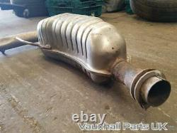 2007 Vauxhall Astra Mk5 H Vxr 2.0 Z20leh Rear Exhaust Silencer 13258190 83215