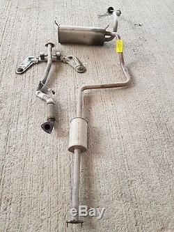 2015 Vauxhall Astra J 1.4 Petrol B14XER Exhaust System COMPLETE