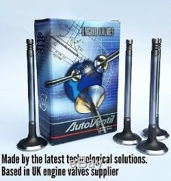 8 Exhaust & 8 Inlet valves FOR Orlando Astra Corsa Z14XEP A14XER X10XE Z10XE LUJ