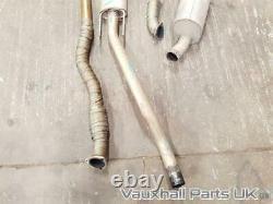 Astra H MK5 VXR 2.0 Z20LEH Scorpion Turbo-Back Performance Exhaust System 2.5