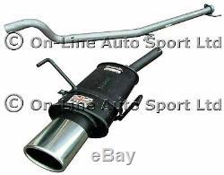 Astra H Mk5 2.0 Turbo (NOT VXR) Sportex Exhaust plus Race Tube System Oval