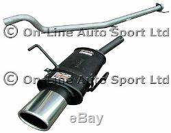 Astra H Mk5 2.0 Turbo (NOT VXR) Sportex Exhaust plus Race Tube System Oval