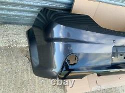 Astra H vxr Rear Bumper With Side Exhaust exit grey z177 parking sensors