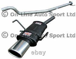 Astra Mk5 1.6 SRi Turbo Sportex Exhaust plus Race Tube System Oval