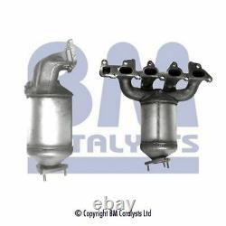 BM Catalysts Exhaust Catalytic Converter BM91021 Fits OPEL