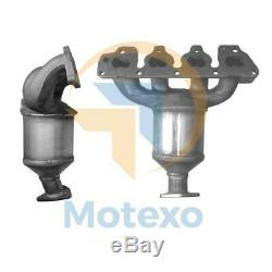 BM91020H VAUXHALL ZAFIRA 1.6i 16v 10/00-8/05 Exhaust Catalytic Converter