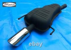 Back Box Exhaust Silencer VAUXHALL OPEL ASTRA ASTRA H 1.8 TWINTOP Chrome