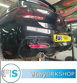 Bmw 1 Series Stainless Steel Exhaust Backbox Delete Supply And Fitted