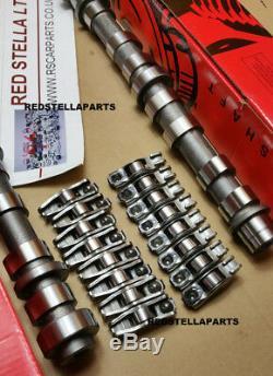 Camshaft Kit 16 Rocker Arms Vauxhal Opel Saab Z19dth A19dth A20dt Z19dtj Y20d