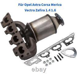 Catalytic Converter Manifold Cat FOR Astra G Zafira Vectra B Corsa C 1.4 1.6 16V