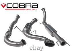 Cobra 3 Exhaust Resonated Turbo Back & Decat for Vauxhall Astra H VXR