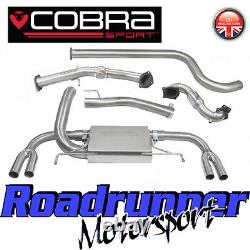 Cobra Astra VXR J MK6 Exhaust System 3 Inc Sports Cat Downpipe Non Res VX25b