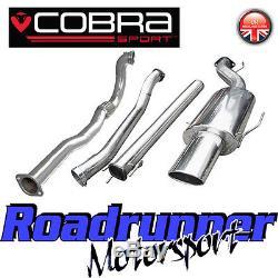 Cobra Sport Astra GSi MK4 3 Turbo Back Exhaust System Non Res & De Cat VZ03d