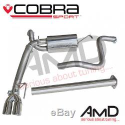Cobra Sport Astra GTC Cat Back Exhaust System Non Resonated Astra J GTC 1.6T