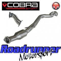 Cobra Sport Astra GTC J 1.6T 1st Pre-cat Downpipe & 2nd Sports Cat Catalyst VX31