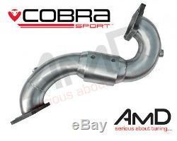 Cobra Sport Astra J GTC VXR Sport Cat Exhaust Largebore Downpipe 3 200 Cell Cat