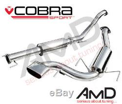 Cobra Sport Astra VXR H Cat Back Exhaust System Resonated 2.5