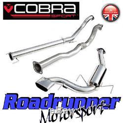 Cobra Sport Astra VXR MK5 3 Turbo Back Exhaust System Non Res & De Cat (VZ07d)