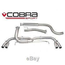 Cobra Sport VX28 Vauxhall Astra J VXR VENOM no back box exhaust VERY LOUD