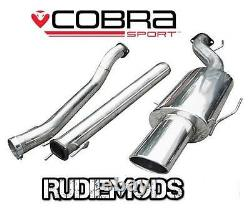 Cobra Sport Vauxhall Astra G Turbo Coupe Cat Back System 3 bore Non Res