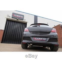 Cobra Sport Vauxhall Astra H 1.4/1.6/1.8 2.5 Cat Back Exhaust (Resonated)