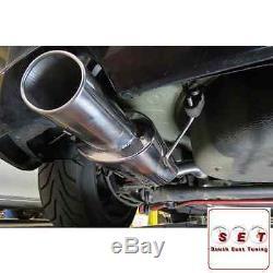 Cobra Sport Vauxhall Astra H SRi Resonated Cat Back Exhaust 2.5