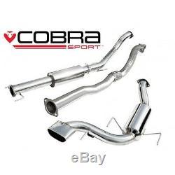 Cobra Sport Vauxhall Astra H VXR (05-11) Turbo-Back (Resonated/De-Cat) VZ07C
