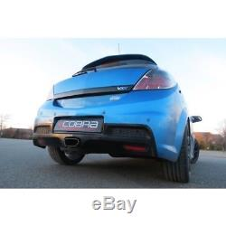 Cobra Sport Vauxhall Astra H VXR 3 Cat Back Exhaust System (Non-Resonated)