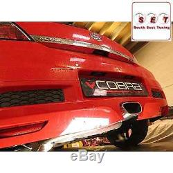 Cobra Sport Vauxhall Astra H VXR Resonated Cat Back Exhaust 2.5