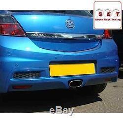 Cobra Sport Vauxhall Astra H VXR Resonated Cat Back Exhaust 3