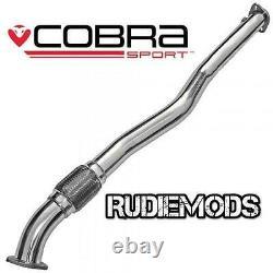 Cobra Sport Vauxhall Astra H VXR Stainless Steel Second De-Cat Pipe 2.5 bore