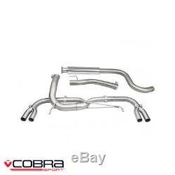 Cobra Sport Vauxhall Astra J VXR 2.0 Turbo Cat Back Exhaust (VE) VX28TP28