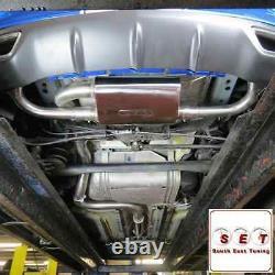 Cobra Sport Vauxhall Astra J VXR Resonated Sports Cat Turbo Back Exhaust 3