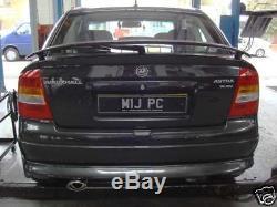Custom Built Vauxhall Astra Exhaust Stainless Steel UK