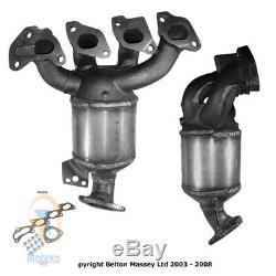 Exhaust Catalytic Converter VAUXHALL CORSA 1.2i 16v Mk. 3 (A12XER Euro 5) 1/10