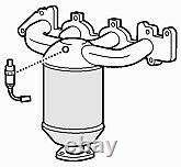 Exhaust Manifold Catalytic Converter for Vauxhall Astra 1.8 (07/00-06/04)