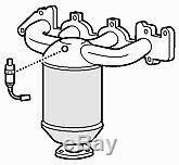 Exhaust Manifold Catalytic Converter for Vauxhall Astra 1.8 (09/00-08/04)