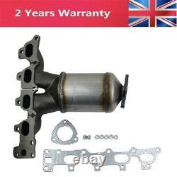 Exhaust Manifold Catalytic Converter for Vauxhall Astra Meriva Zafira 1.6 Z16XEP