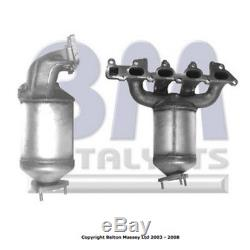 Fit with BM Cats VAUXHALL ASTRA Catalytic Converter Exhaust 91021H 1.8 9/2000-9/