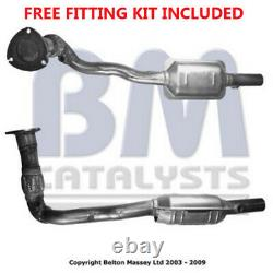 Fit with VAUXHALL ASTRA Catalytic Converter Exhaust 90839 2.2 Fitting Kit Inclu