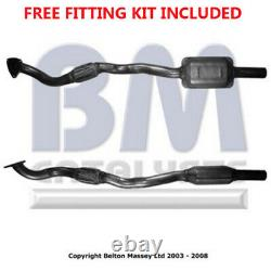 Fit with Vauxhall Astra Exhaust Catalytic Converter 80258H 1.9L Fitting Kit Inc