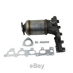 Fits Vauxhall Astra Meriva Zafira 1.6i 16V Exhaust Manifold Catalytic Converter