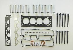 For Vauxhall Opel Astra G H 1.8 Head Gasket Set Bolts 8 Inlet 8 Exhaust Valves