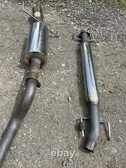 Genuine Vauxhall Astra Sri 2.0 Turbo Stainless 2.5 Exhaust System Unbranded