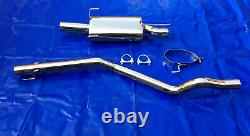 Group Size A Vauxhall Astra F Kadett E+ Cabriolet Gsi Stainless Steel Exhaust