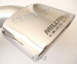 Milltek Astra VXR H Cat Back Exhaust System Stainless Resonated SSXVX009 NEW