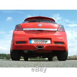 Milltek SSXVX009 Vauxhall Astra H VXR 2.5 Cat Back Exhaust (Resonated)