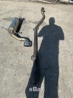 Miltek Vauxhall Astra Vxr Stainless Exhaust