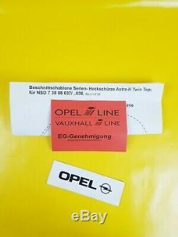 New Irmscher End Silencer Opel Astra H Twin Top OPC Nachschalldämpfer Exhaust